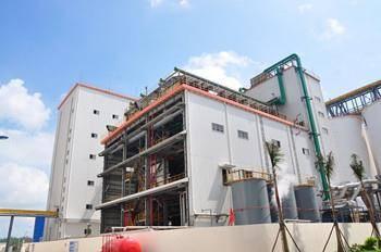 Soybean oil plant