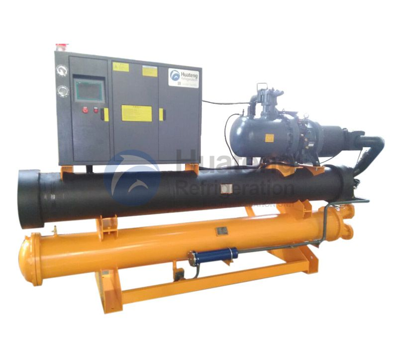 China Custom Auto Switch Water Cooled ScrewChiller