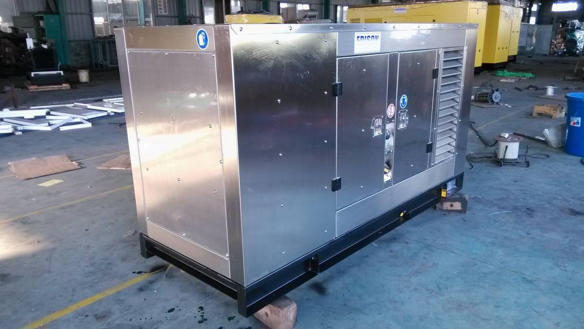Sound-proof Generator Set, Lovlo Diesel Engine with Leroy Somer Alternator Top Quality