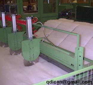 Non woven polyester fiber wadding pillow produce line