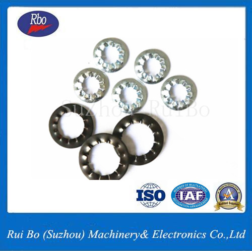 High Quality DIN6798J Internal Serrated Lock Washer/Washers with ISO