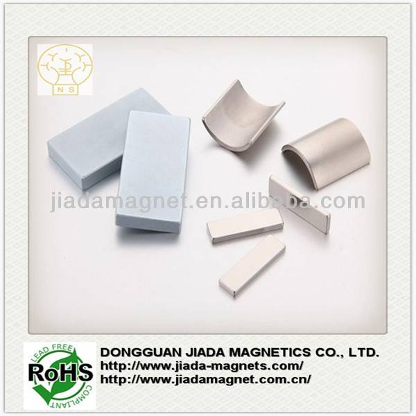 high performance motor rare earth neodymium segment and arc magnets