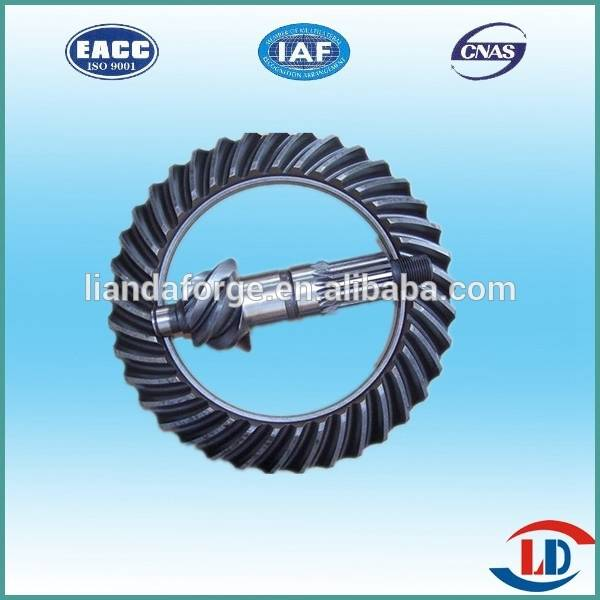Truck Rear Axle Crown Wheel Pinion Gear