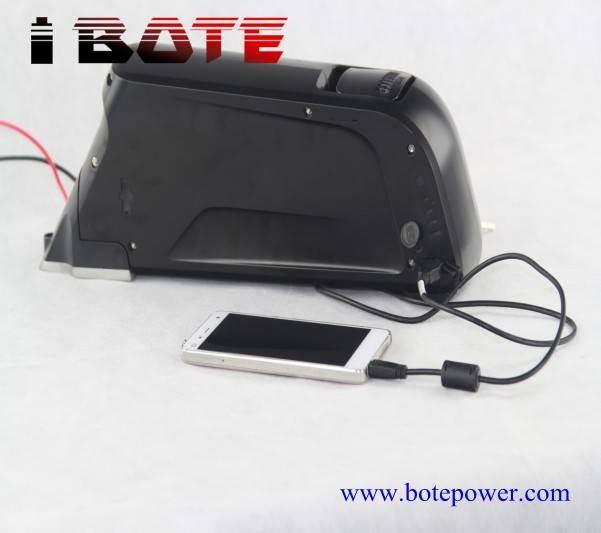 New type lithium ion electric bicycle battery pack 48V 12AH