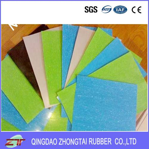 2016 Hot Sale Cloth Insertion Rubber Sheet