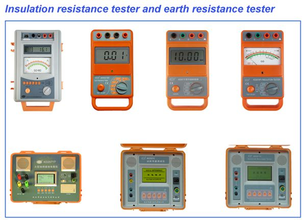 KDDQ series insulation resistance tester , ground resistance tester , lightning protection tester