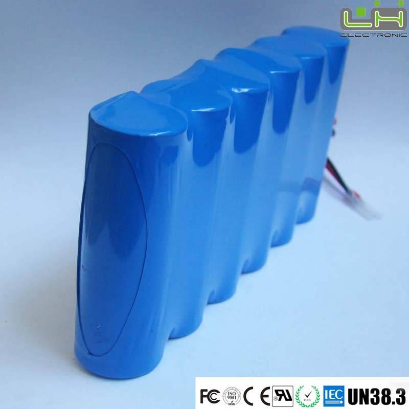 Sell 11.1V 6600mah 18650 li-ion battery for weeding machine