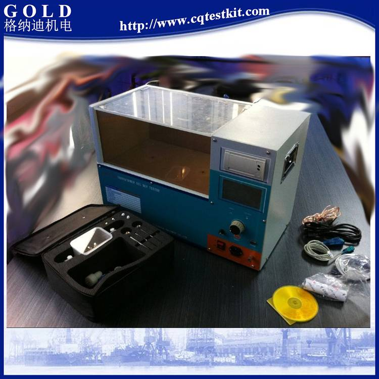Dielectric Oil Automatic Dielectric Strength Tester 100kV, 80kV