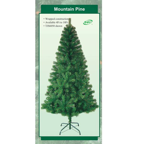 Artificial christmas trees for home decoration