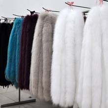 Wholesale women jacket natural Raccoon Fur Hood Trim Detachable Collar.