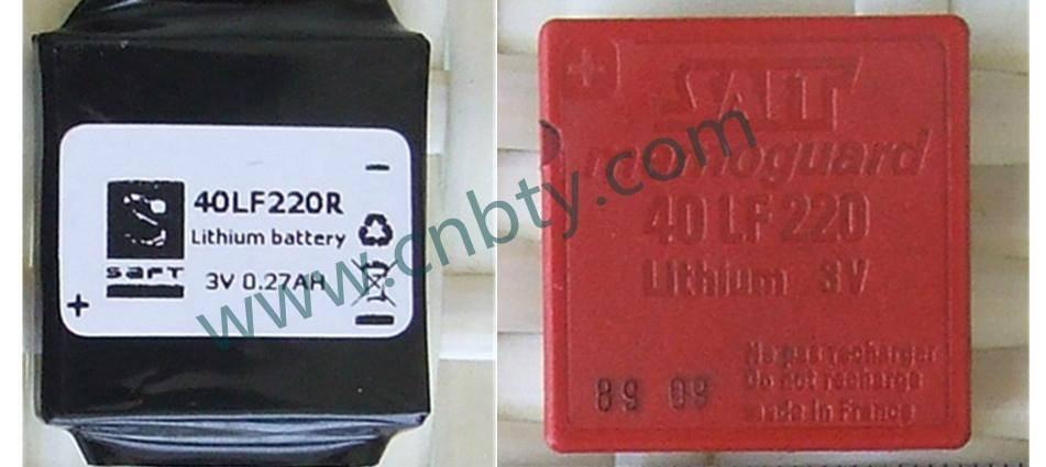 40LF220 SAFT Battery 3V 270mAh