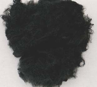 black color thermo bonding fiber 4d 51mm