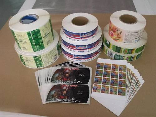 Gravure Printing Plastic Adhesive Labels for Mass Printing Production