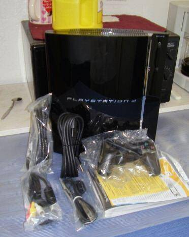 SONY Black Playstation 3 Deluxe With 60GB HDD