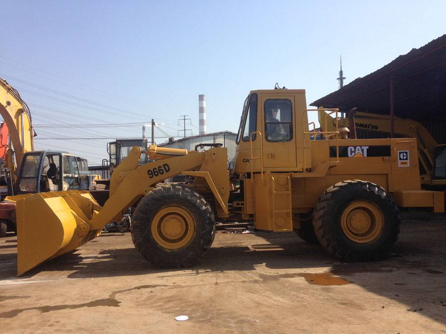 Used CAT 966d wheel loader, used loader caterpillar 966d for sale