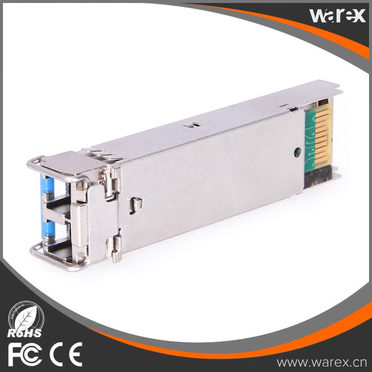100BASE-FX SGMII SFP for Gigabit Ethernet ports, 1310 nm wavelength, 2 km over MMF GLC-GE-100FX 100%