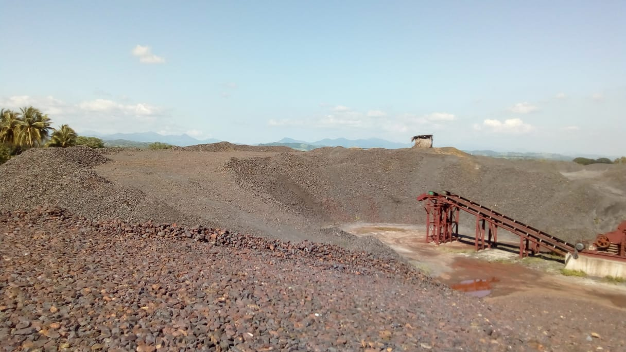 Iron Ore by Container. Mexico