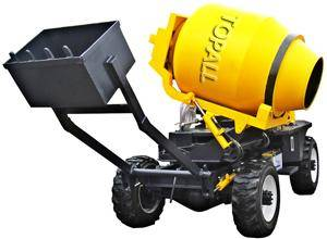 4X4 SELF-LOADING MOBILE CONCRETE MIXER