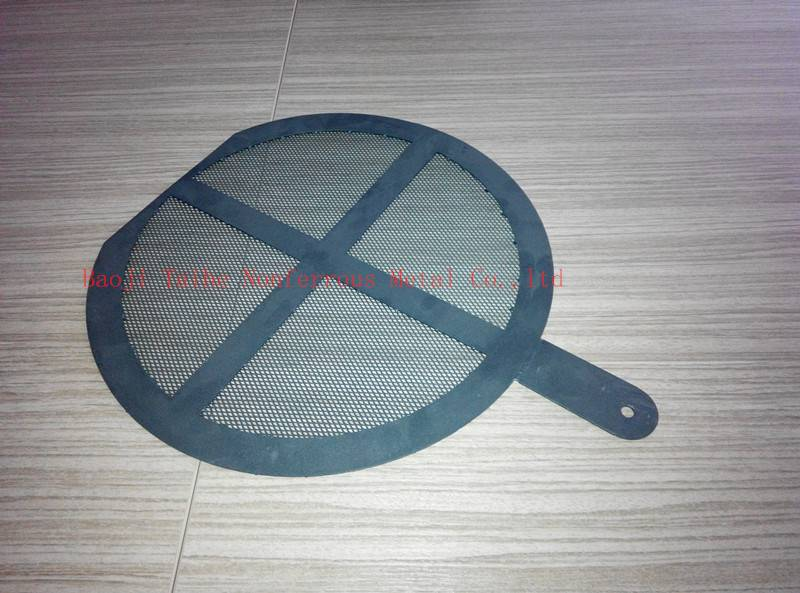 titanium anode mesh for swimming