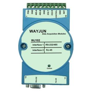 Modbus RTU to TCP , RS232/485 to Ethernet Module