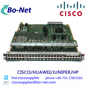 CISCO WS-X6348 network switches Cisco select partner BO-NET