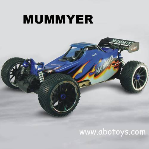 The latest development extra large scale 1:5 nitro powered Off-road Buggy