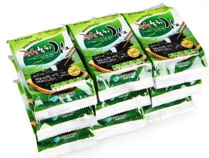 GwangCheon greentea Seaweed