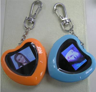 KEY CHAIN DIGITAL PHOTO FRAME with 1.1 LCD display