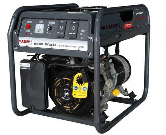 Great Deal Best choice Masons brand PRH 7500, Air-cooled, 4-stroke,OHV, Single cylinder 14HP, 25L