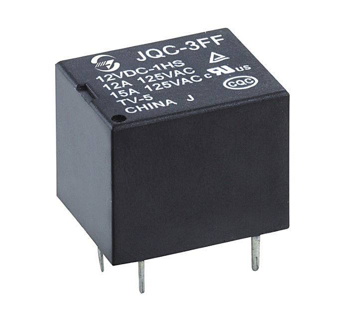 Subminiature high power relay JQC3FF