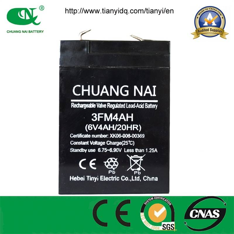 6V4AH LEAD ACID BATTERY FOR MBENCH SCALES