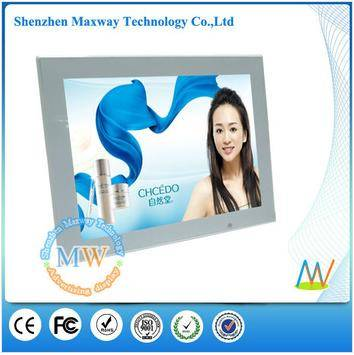 motion sensor functional with HD video 12 digital picture frame