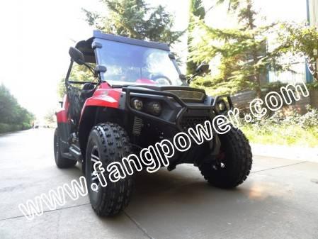 2X4 chain drive GY6 engine alloy wheel UTV 200cc