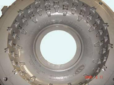 ATV tire mold