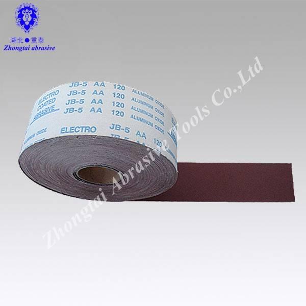 OEM JB-5,TJ-5 sand cloth roll