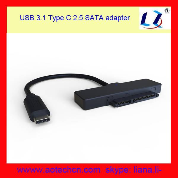 factory USB-C To SATA Converter Adapter Cable for 2.5 inch HDD and SSD