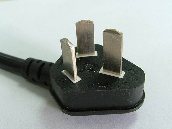 Sell Chinese CCC Two/Three-Pin Power Supply Plug
