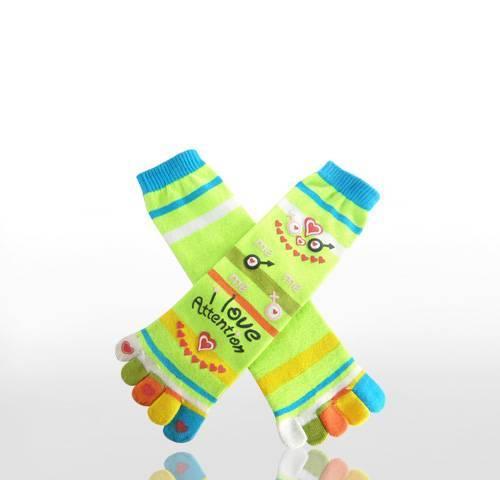 girl's toe socks