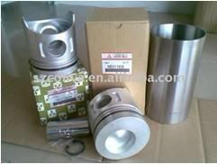 6D31 cylinder liner&piston kit