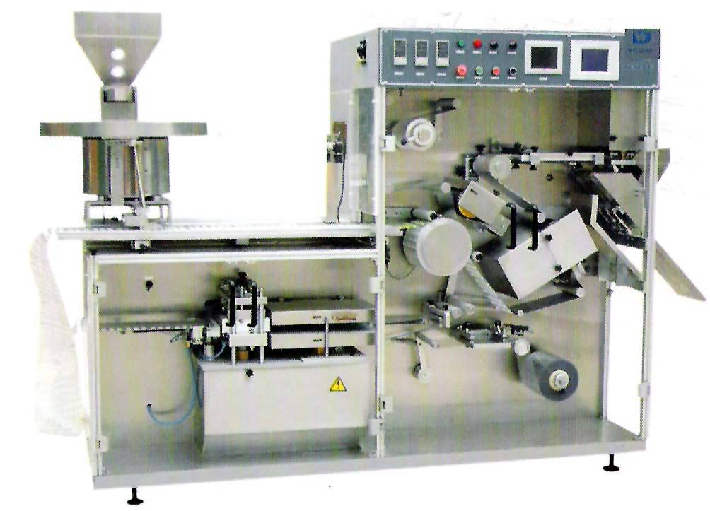 DPH200 automatic blister packing machine
