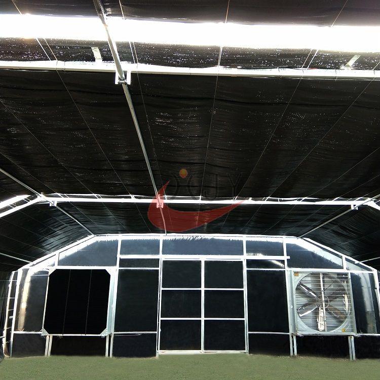 Agricultural Blackout Light Deprivation Greenhousecustom Single Span Greenhouse