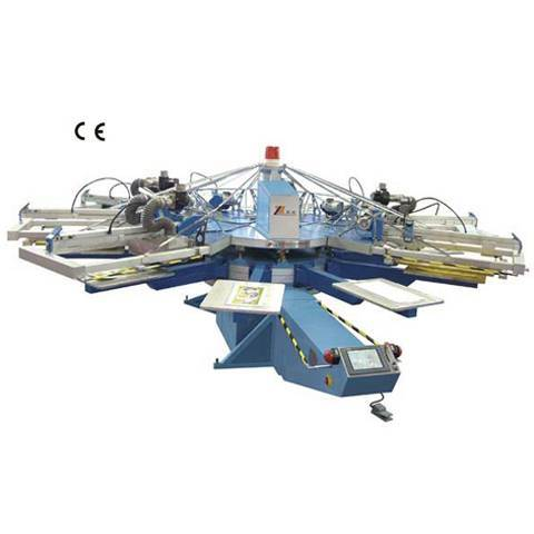 SPA series automatic UV screen printing machine, UV screen printer