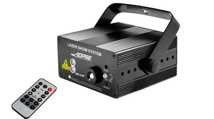 LED Stage Laser Ptojector Light 40 Patterns