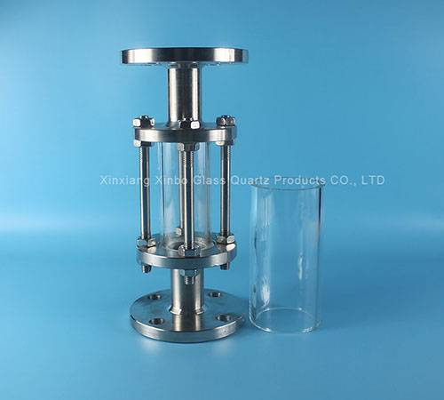 transparent valve circle pyrex glass disc