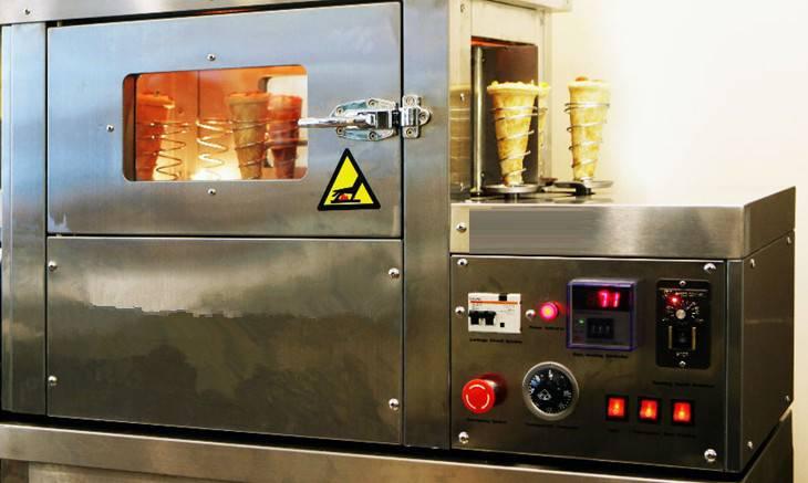 Automatic Pizza cone molder/Pizza cone machine/Machine to make pizza