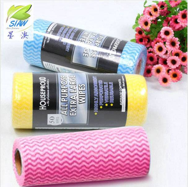 all purpose nonwoven disposable roll cleaning cloth
