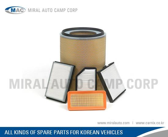 All Kinds of Air Filters for Korean Vehicles