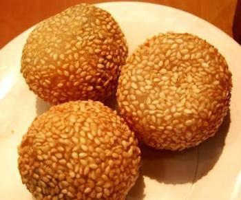 Frozen Sesame Seeds Rice Balls
