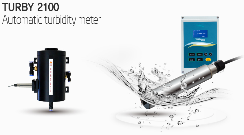 Automatic Turbidity Meter TURBY 2100P Water Analyzer