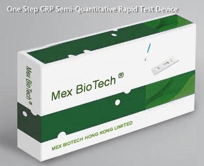 One Step CRP Semi-Quantitative Rapid Test Device (Whole Blood/Serum/Plasma)